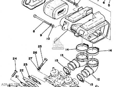 Yamaha Rd200c 1976 parts list partsmanual partsfiche