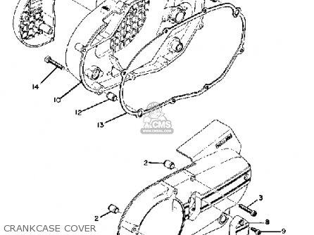 Yamaha Rd250 1975 Usa parts list partsmanual partsfiche