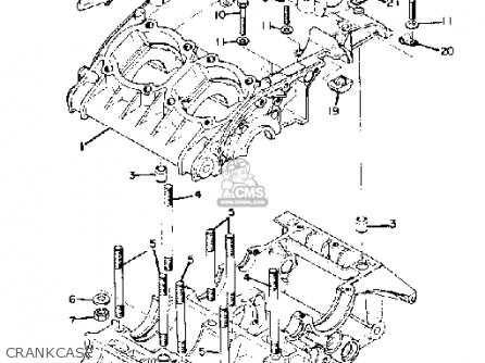 Yamaha RD250 1975 USA parts lists and schematics