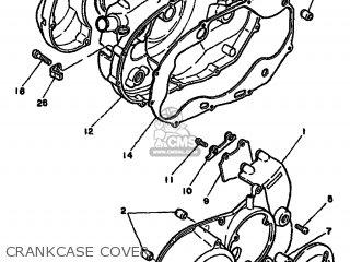Yamaha Rd250lc 1981 4l1 Europe 214l1-332e2 parts list