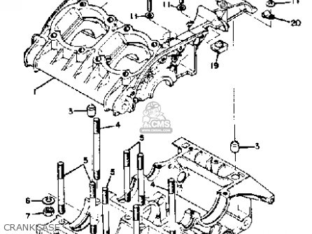 Yamaha Rd350 1974 Usa parts list partsmanual partsfiche