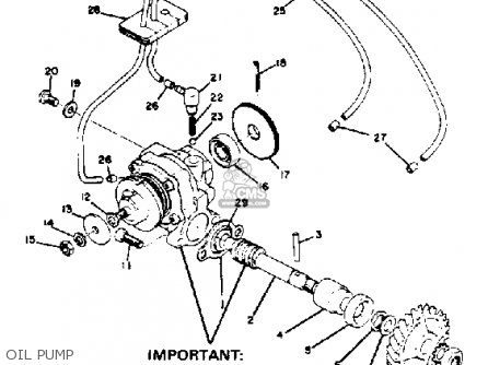 Yamaha RD350 1974 USA parts lists and schematics