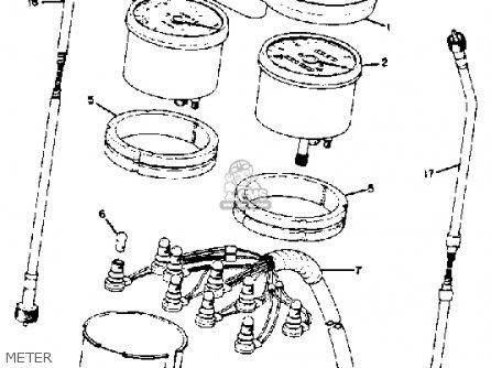 Yamaha Rd350 1975 Usa parts list partsmanual partsfiche