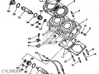 Yamaha Rd350lc 1986 1ua Europe 261ua-300e1 parts list