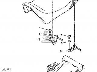 Yamaha RD350LC 1986 1UA EUROPE 261UA-300E1 parts lists and