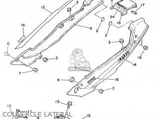 Yamaha RD350LC 1986 1UA FRANCE 261UA-351F1 parts lists and