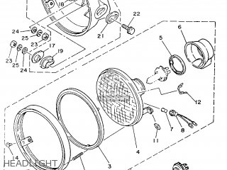 Yamaha Rd350lc 1986 1ua France 261ua-351f1 parts list
