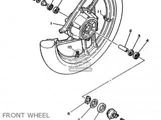 Yamaha RD350LC 1988 2UA ITALY 282UA-354S1 parts lists and