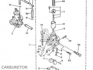 Yamaha Rd350lc 1988 2ua Spain 282ua-352s1 parts list