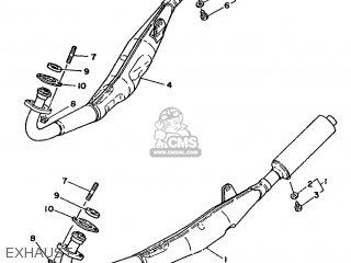 Yamaha RD350LC 1988 2UA SPAIN 282UA-352S1 parts lists and