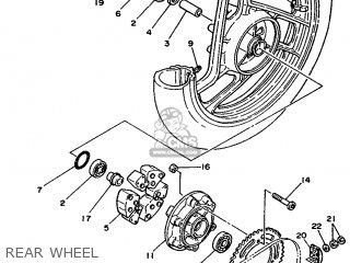 Yamaha Rd350lc 1992 4ce6 England 224ce-300s2 parts list