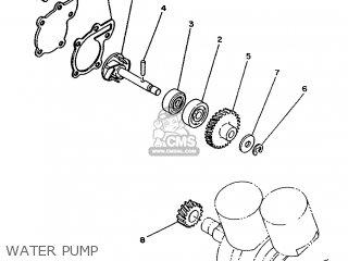 Yamaha RD350LC 1992 4CE6 ENGLAND 224CE-300S2 parts lists