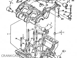Yamaha Rd350lcf 1988 3dh1 England 283dh-310e1 parts list