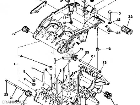 Yamaha RD400 1977 USA parts lists and schematics