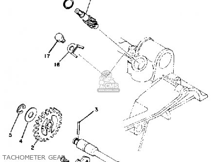 Yamaha RD400 1979 USA parts lists and schematics