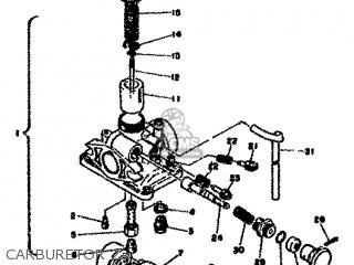 Yamaha Rd50m 1979 2l7 Europe 2e028-198e5 parts list