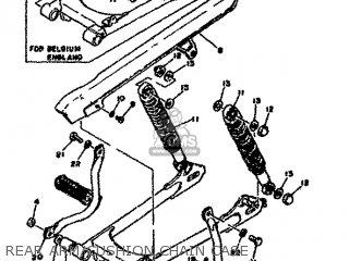 Yamaha RD50M 1979 2L8 EUROPE 2E028-198E5 parts lists and