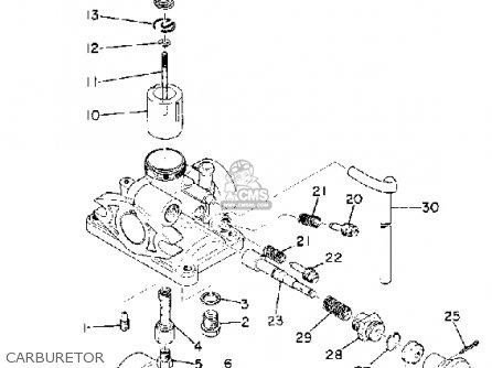 Yamaha Rd60 1973-1975 parts list partsmanual partsfiche