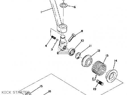 Yamaha Rd60 1973 Usa parts list partsmanual partsfiche