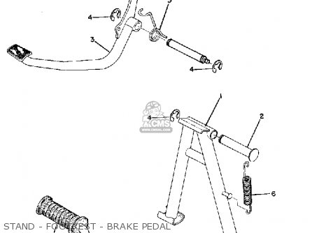 Yamaha RD60 1973 USA parts lists and schematics