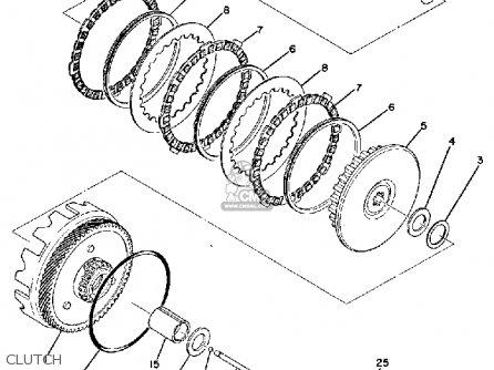 Yamaha Rd60 1974 Usa parts list partsmanual partsfiche