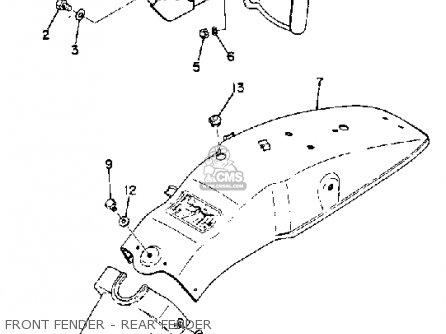 Yamaha RD60 1974 USA parts lists and schematics
