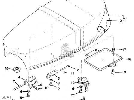 Yamaha RS100 1976 USA parts lists and schematics