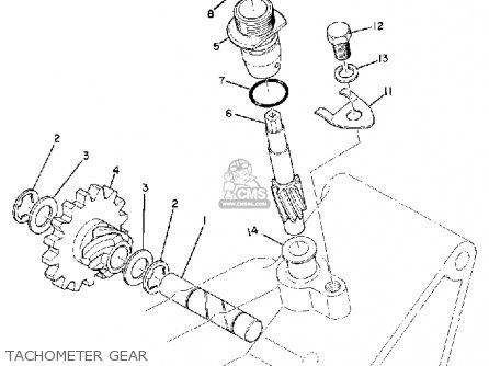 Yamaha RT1 1970 USA parts lists and schematics