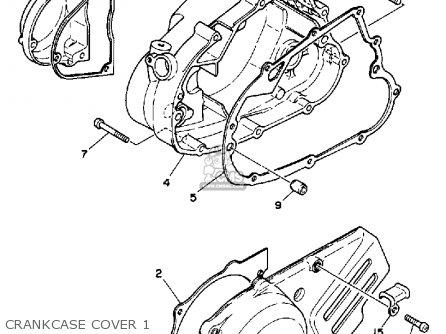 Yamaha Rt100 1992 (n) Usa parts list partsmanual partsfiche