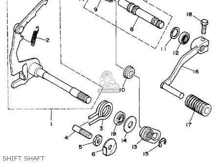 Yamaha RT100 1992 (N) USA parts lists and schematics
