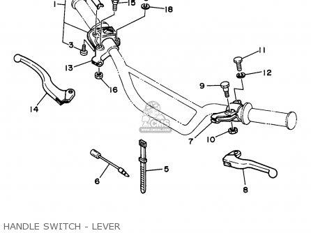Yamaha RT100 1997 (V) USA parts lists and schematics