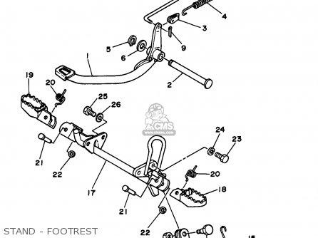 Yamaha Rt100 1997 (v) Usa parts list partsmanual partsfiche