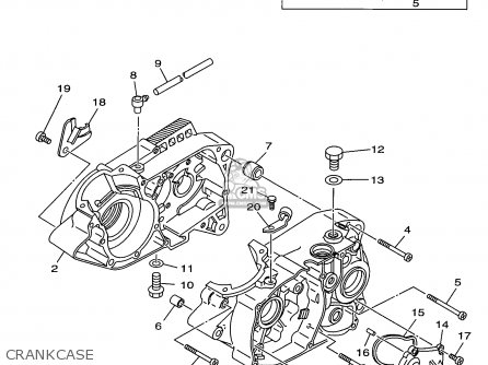 Yamaha Rt100 1998 (w) Usa parts list partsmanual partsfiche