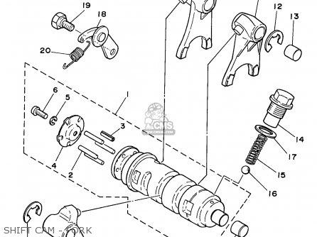 Yamaha Rt100 1998 (w) Usa parts list partsmanual partsfiche