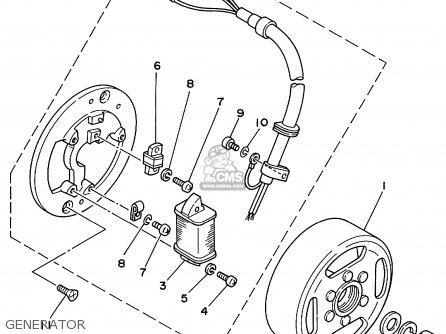 Yamaha Rt100 1999 (x) Usa parts list partsmanual partsfiche