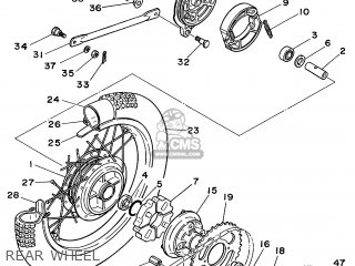 Yamaha Rt100 1999 (x) Usa parts list partsmanual partsfiche