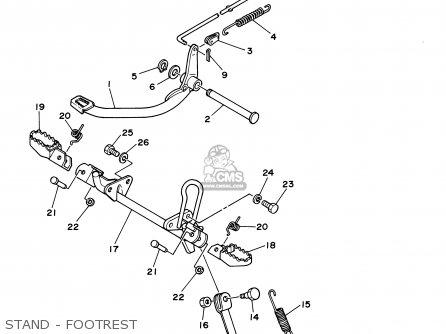 Yamaha Rt100 2000 (y) Usa parts list partsmanual partsfiche