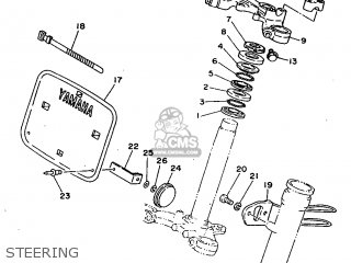 Yamaha RT100H 1996 3UL7 CANADA 263UL-100E1 parts lists and
