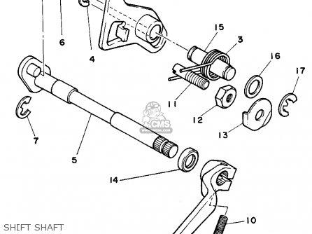 Yamaha Rt180 1990 (l) Usa parts list partsmanual partsfiche