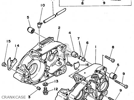 Yamaha Xt 500 Wiring Diagram Honda Cl100 Wiring Diagram