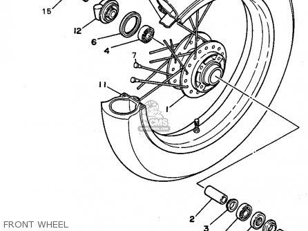 Yamaha RT180 1991 (M) USA parts lists and schematics