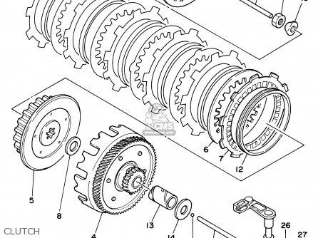 Yamaha RT180 1992 (N) USA parts lists and schematics
