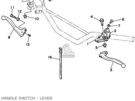 Yamaha Rt180 1992 (n) Usa parts list partsmanual partsfiche