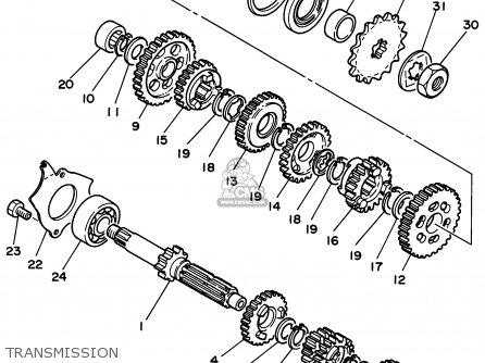 Yamaha RT180 1995 (S) USA parts lists and schematics