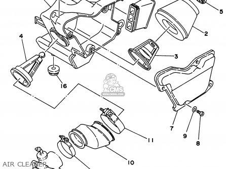 Yamaha Rt180 1996 (t) Usa parts list partsmanual partsfiche