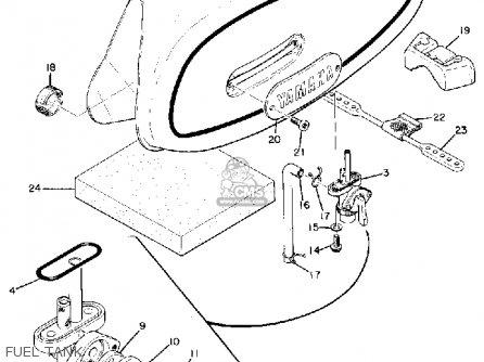 Yamaha RT1MX 1971 USA parts lists and schematics