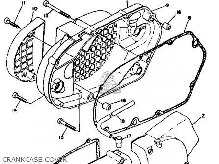 Yamaha RT2 1972 USA parts lists and schematics