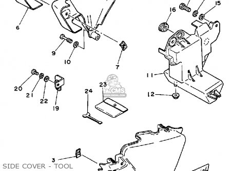 Yamaha Rx50 50special 1983 (d) Usa parts list partsmanual