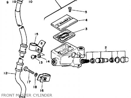 Yamaha Rx50 50special 1984 (e) Usa parts list partsmanual