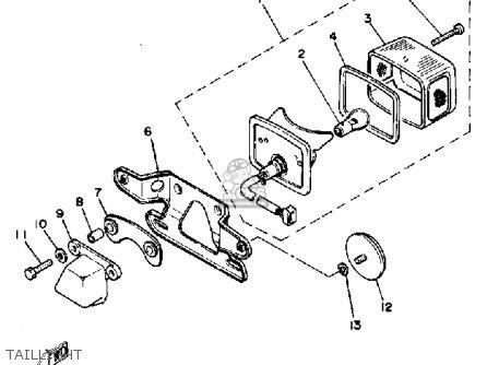 Yamaha Rx50k 1983 (d) Usa parts list partsmanual partsfiche